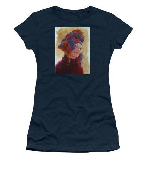 Turban 2 Women's T-Shirt (Junior Cut) by Connie Schaertl