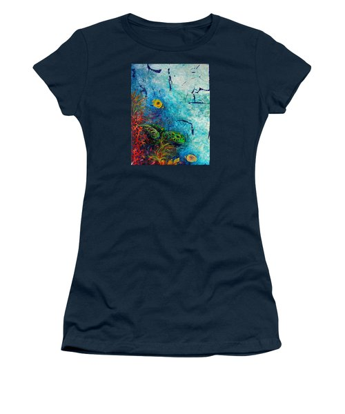 Turtle Wall 1 Women's T-Shirt (Junior Cut) by Ashley Kujan