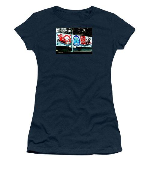 Twilight In Forks Wa 6 Women's T-Shirt (Junior Cut) by Sadie Reneau