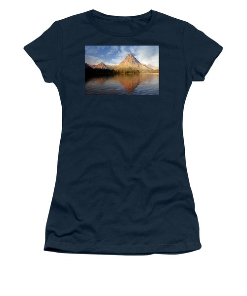 Women's T-Shirt (Junior Cut) featuring the photograph Two Medicine by Marty Koch