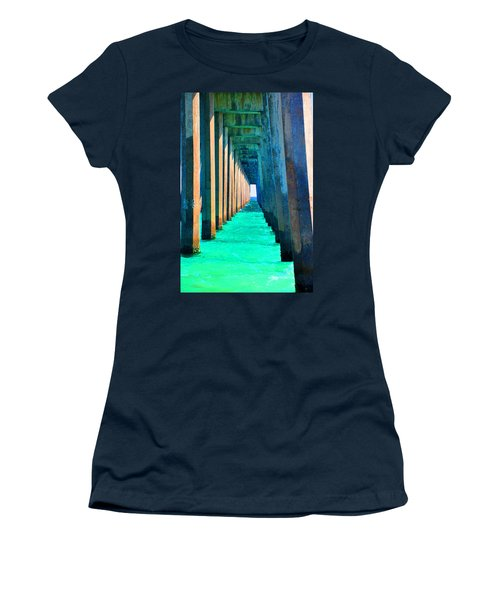 Under The Pier Too Women's T-Shirt (Athletic Fit)
