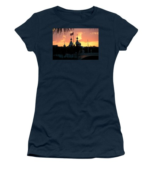 University Of Tampa Minerets At Sunset Women's T-Shirt (Athletic Fit)