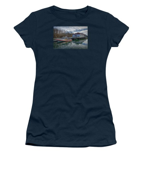 Usgs Castle Hill Station Women's T-Shirt (Athletic Fit)