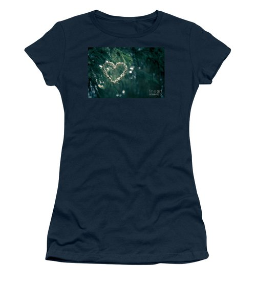 Valentine's Day In Nature Women's T-Shirt (Junior Cut) by Andreas Levi