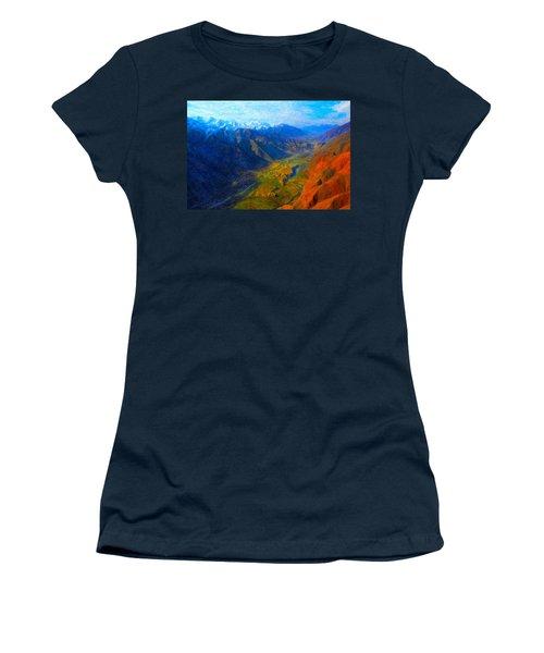 Valley Shadows Women's T-Shirt