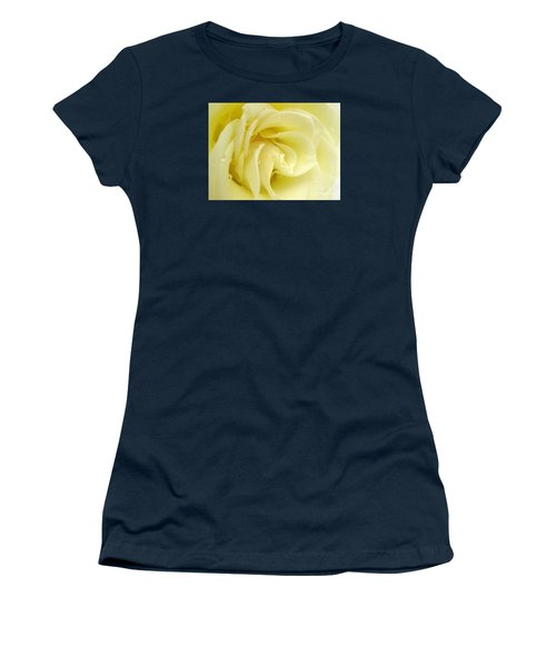 Vanilla Swirl Women's T-Shirt (Junior Cut) by Patti Whitten