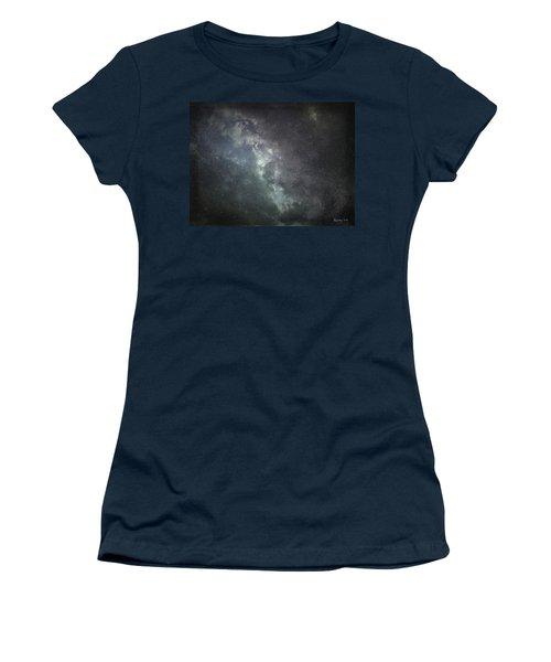 Vast Universe Women's T-Shirt (Junior Cut) by Cynthia Lassiter