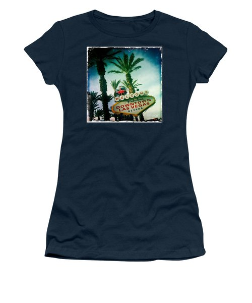 Vegas Women's T-Shirt (Junior Cut) by Nina Prommer
