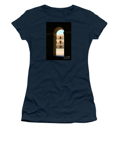 Ventana De Arco Women's T-Shirt (Junior Cut) by The Art of Alice Terrill