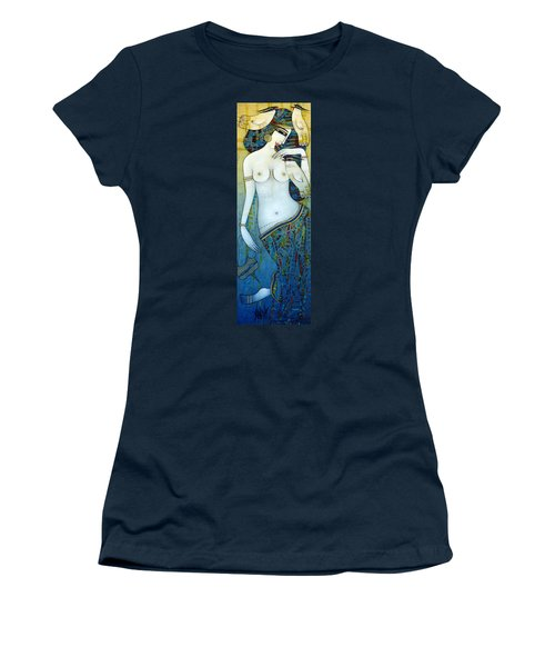 Venus With Doves Women's T-Shirt (Athletic Fit)