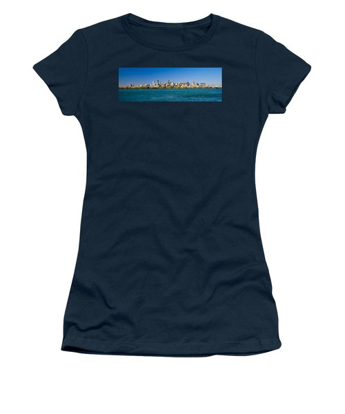 View Of Montreal Skyline And The Saint Women's T-Shirt