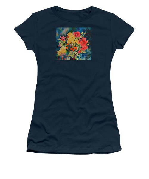 Women's T-Shirt (Athletic Fit) featuring the painting Vogue by Beatrice Cloake