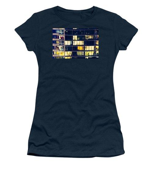 Women's T-Shirt (Junior Cut) featuring the photograph Voyeuristic Pleasure Cdlxxxviii by Amyn Nasser
