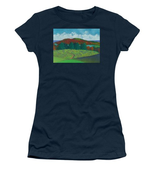 Walking Meditation Women's T-Shirt