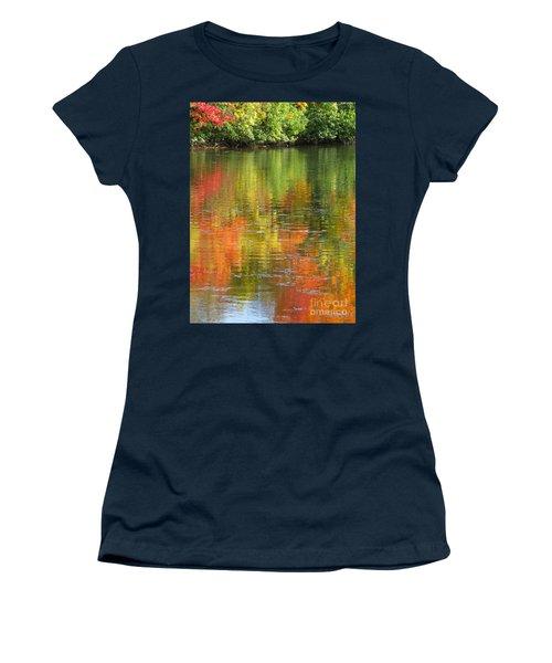 Water Colors Women's T-Shirt (Junior Cut) by Ann Horn