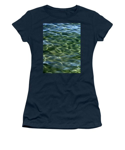 Waves On Lake Tahoe Women's T-Shirt (Athletic Fit)
