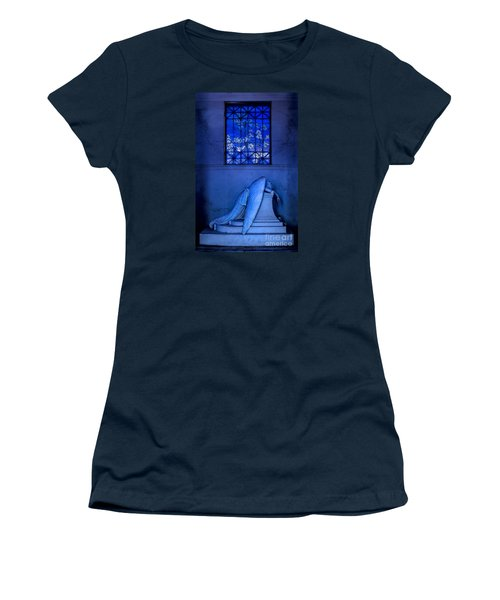 Weeping Angel Women's T-Shirt (Junior Cut) by Jerry Fornarotto