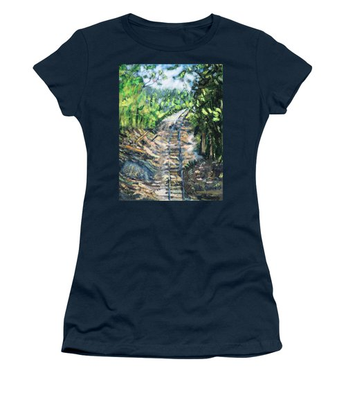 What's Around The Bend? Women's T-Shirt (Athletic Fit)