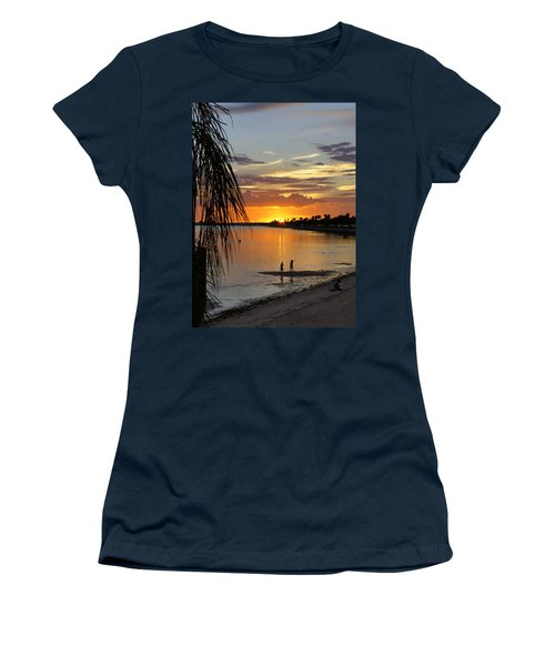 Women's T-Shirt (Junior Cut) featuring the photograph Whiskey Joe's by Laurie Perry
