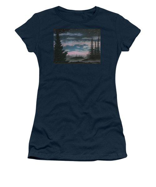 Whispering Pines 02 Women's T-Shirt