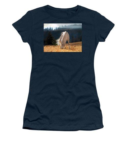 Wild Horse Cloud Women's T-Shirt (Athletic Fit)