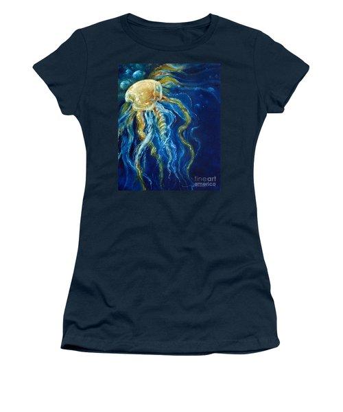 Wild Jellyfish Reflection Women's T-Shirt