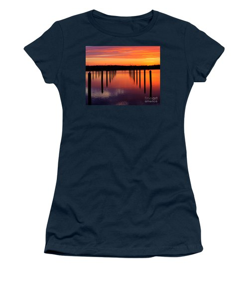 Winchester Bay Sunset Women's T-Shirt