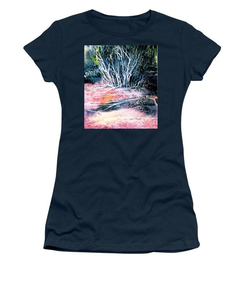Winter Habitat No.1 Women's T-Shirt (Junior Cut) by Trudi Doyle