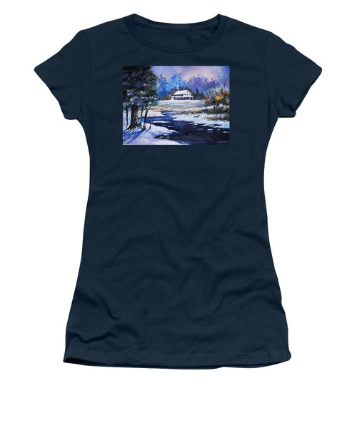 Winter Solitude Women's T-Shirt (Athletic Fit)