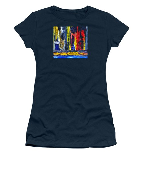 Women In Ceremony Women's T-Shirt (Junior Cut) by Kicking Bear  Productions