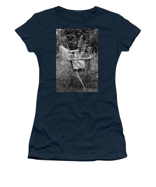 Wood Bench Women's T-Shirt