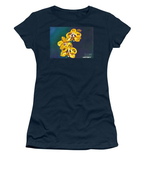 Yellow Orchids Women's T-Shirt