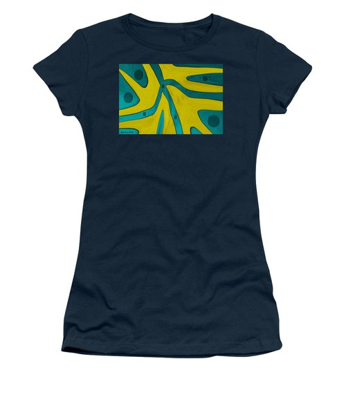Yellow People Women's T-Shirt (Athletic Fit)