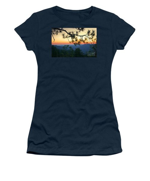 Yosemite Dusk Women's T-Shirt (Junior Cut) by Ellen Cotton