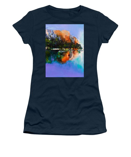 Yosemite Valley Women's T-Shirt (Athletic Fit)