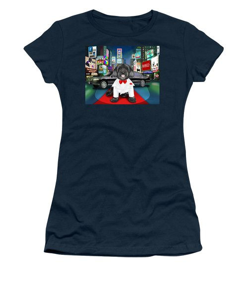 Sir Cuba Of Chelsea In Times Square Nyc Women's T-Shirt