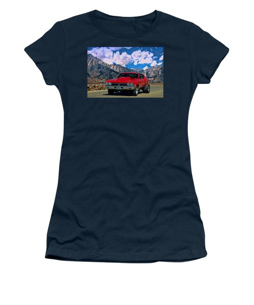 1968 Chevelle Super Sport Women's T-Shirt (Junior Cut) by Tim McCullough
