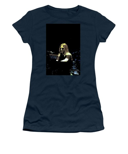 Women's T-Shirt (Junior Cut) featuring the photograph Brent Mydland Of The Grateful Dead by Susan Carella