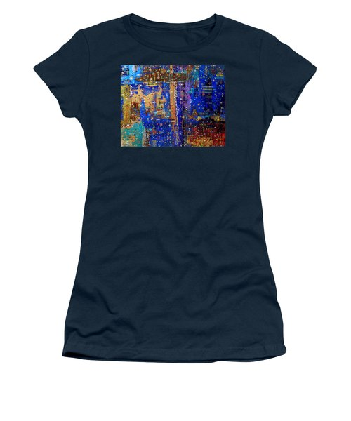 Design For Meditation Women's T-Shirt (Athletic Fit)