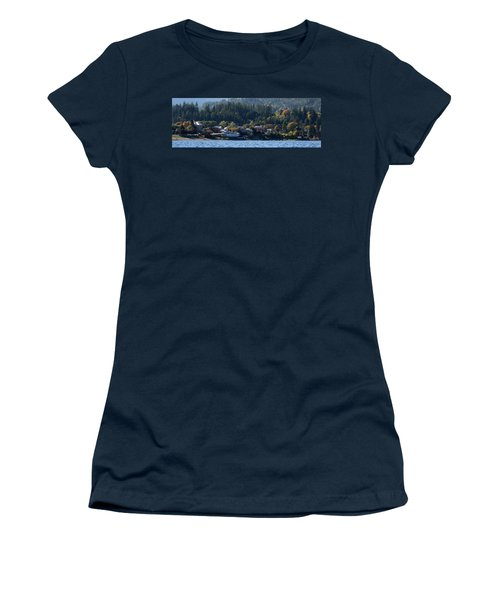 Women's T-Shirt (Junior Cut) featuring the photograph Home Sweet Kaslo by Cathie Douglas