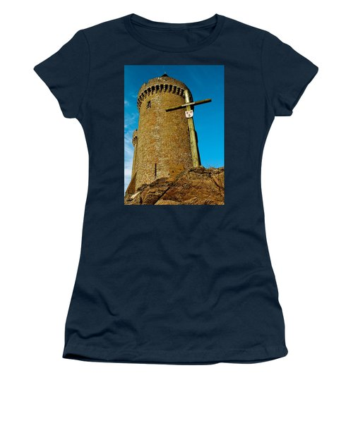 Solidor And Cross Women's T-Shirt (Junior Cut) by Elf Evans