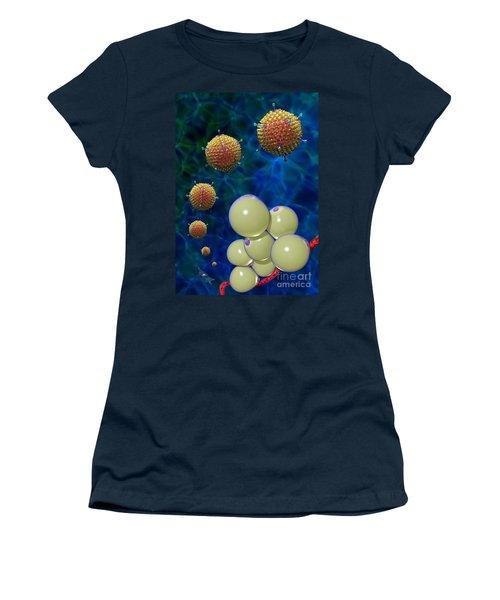 Adenovirus 36 And Fat Cells Women's T-Shirt
