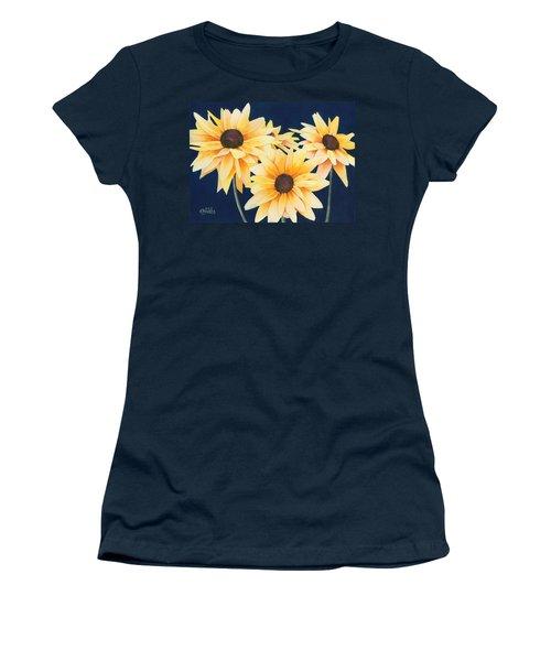 Black Eyed Susans 2 Women's T-Shirt (Athletic Fit)