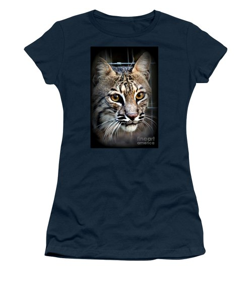 Women's T-Shirt (Junior Cut) featuring the photograph Cat Fever by Kathy  White