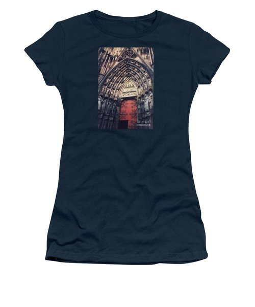 Cathedral Women's T-Shirt (Junior Cut) by Paul  Wilford