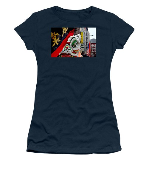 Chinese New Years Nyc  4704 Women's T-Shirt (Junior Cut) by Mark Gilman