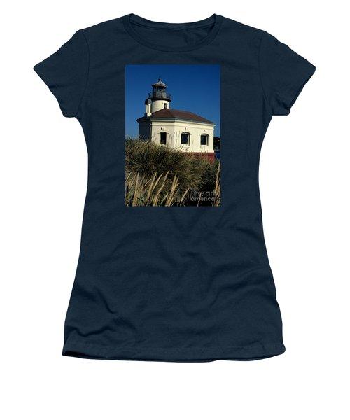 Women's T-Shirt (Junior Cut) featuring the photograph Coquille Light by Sharon Elliott