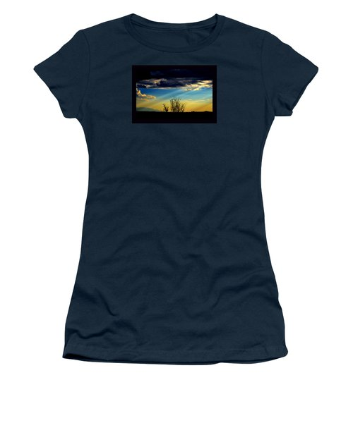 Desert Dusk Women's T-Shirt (Junior Cut) by Susanne Still