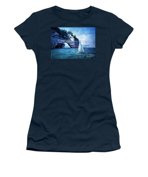 First League Out From Land Women's T-Shirt