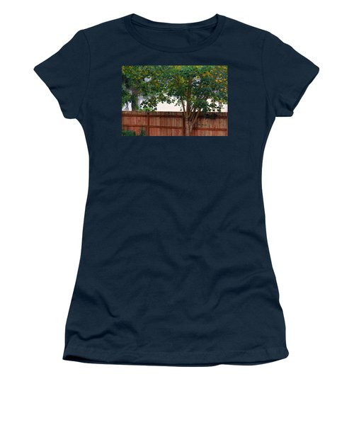 Fog In Olympia II Women's T-Shirt (Junior Cut) by Jeanette C Landstrom